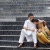 Abhishek Bachchan trying to console Vidya Balan | Paa Photo Gallery