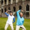 Abhishek and Amitabh dancing together in Paa movie | Paa Photo Gallery