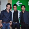 Tusshar Kapoor Harmeet Singh and Ankit Tiwari at Meet Bros Success Bash