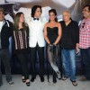 Richa Chadda, Mahesh Bhatt, Rahul Roy and Pooja Bhatt at On Location Shoot of 'Cabaret'