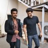 Aditya Roy Kapur and Arjun Kapoor Snapped at Mehboob Studio!