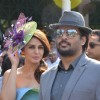 R. Madhavan and Huma Qureshi at Mid-Day Race