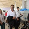 Jackie Shroff was spotted at Airport