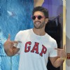 Ranveer Singh poses for the media at Gap Jeans Store Launch