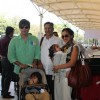 Vivek Oberoi With Wife, Baby and Father Suresh Oberoi Snapped at Airport