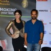 Sunny Leone and Deepak Dobriyal at Launch of 'Anti Smoking' Ad