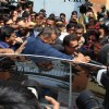 Sanjay Dutt Visits his Mom's Kabrastan post his release from Yerwada Jail