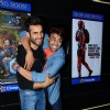 Karan Tacker and Manish Paul at Special Screening of 'Tere Bin Laden: Dead or Alive'