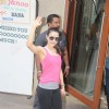 Ameesha Patel Visits Sanjay Dutt at Home Post Release from Yerwada Jailat Sanjay Dutt Home!