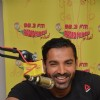 Promotions of 'Rocky Handsome' at Radio Mirchi