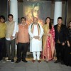 Cast of Sarabjit with BJP Pres Amit Shah & Minister Nitin Gadkari at Poster Launch of 'Sarabjit'