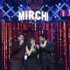 Sonu Niigam and Shah Rukh Khan entertain the audience at Mirchi Music Awards 2016