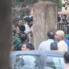 Shah Rukh Khan snapped shooting for Raees at Parsi Gymkhana at Dadar
