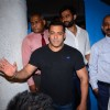 Superstar Salman Khan Snapped at Olive Post dinner of Malaika's parent's anniversary