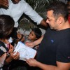 Salman Khan Snapped intereacting with street Kids Outside Olive
