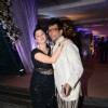 Javed Jaffrey and Kainaat Arora at Kresha Bajaj's Wedding