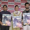 Alia Bhat and Fawad Khan at Cover Launch of 'Filmfare' Magazine