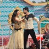 Mouni Roy and Arjun Bijlani with Life OK Celebrate a Glamorous Holi