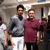 Sidharth Malhotra with Rishi Kapoor for Kapoor & Sons Promotions