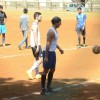 Dino Morea and Raj Kundra Snapped Playing Football