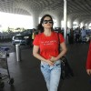 Zarine Khan Snapped at Airport