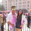 Ravi Dubey and Sargun Mehta at BCL's Holi Celebrations