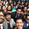 Pritam shoots with Shahrukh Khan for Sa Re Ga Ma Pa