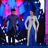 Deepika Padukone and Manish Paul at Umang 2016