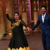 Shah Rukh Khan with Bharti Singh at Promotions of 'Fan' on 'Comedy Nights Bachao!