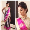 Tanishaa Mukerji in Manish Malhotra at the Colors Gudi Padwa party