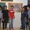 Sunny Deol with BobbyDeol at Gateway School Art Show
