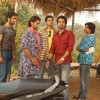 Kunal Karan Kapoor, Arhaan Behll with their friends in the show Pratigya