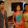 Sadhna, Ragini and Ranvir looking sad