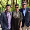 Vir Das, Neha Dhupia and Boman Irani at Press Meet of 'Santa Banta Pvt. Ltd.'