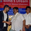 Varun Dhavan at Dr Samir Mansuri's NGO 'BLIND DREAMS'