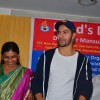 Varun Dhawan meets Blind Girls at an NGO