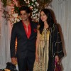 Karanvir Bohra and Teejay Sidhu at Karan - Bipasha's Star Studded Wedding Reception