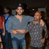 Sidharth Malhotra gets a Hair Cut at Aalim's Hair Academy