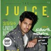 Sidharth Malhotra on the cover page of 'The Juice'