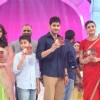 Mahesh Babu, Kajal Aggarwal and Pranitha Shubhash atTrailer Launch of the film 'Brahmotsavam'