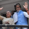 Amitabh Bachchan and Jaya Bachchan Promote Kalyan Jewellers in Kolkata