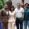 Emraan Hashmi, Prachi Desai and Cricketer Mohammad Azharuddin at Press Meet of Azhar in Delhi