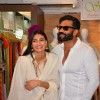 Athiya and Suneil Shetty at Abitare Art Gallery's Exhibition