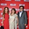 Sanjay Khan with Sussane Khan, Zeenat Aman at Launch of Book Iconic Jewels of India