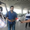 R Madhavan Snapped at Airport