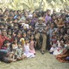 Amitabh Bachchan shoots with deaf and mute children for TE3N