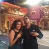 Monali Thakur with Mika Singh on the sets of 'Comedy Nights Live'