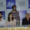 Shahid Kapoor, Alia Bhatt, Vishesh & Mahesh Bhatt at Press Meet of IFTDA for Udta Punjab Controversy
