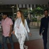 Airport Diaries: Airport Diaries: Iulia Vantur leaves the airport after Salman Khan!