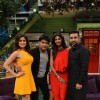 Shilpa Shetty, Shamita Shetty & Raj Kundra with host Kapil on The Kapil Sharma Show